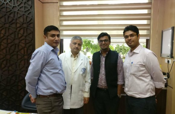 Meeting with Dr. R Guleria, MCI BoG & Director AIIMS Delhi